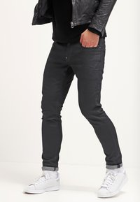 G-Star - REVEND SKINNY - Jeansy Skinny Fit - black pintt stretch denim - 3