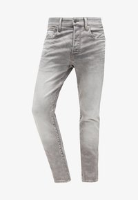 G-Star - 3301 TAPERED - Jeans Tapered Fit - kamden grey stretch denim - 6