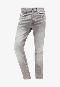 G-Star - 3301 TAPERED - Jeans fuselé - kamden grey stretch denim - 6