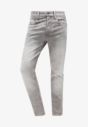 3301 TAPERED - Zúžené džíny - kamden grey stretch denim