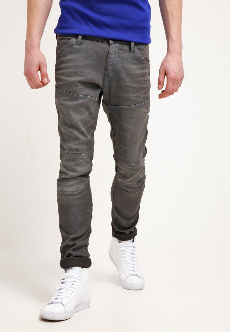 G-Star - 5620 3D SUPER SLIM - Jeans Slim Fit - loomer grey stretch denim