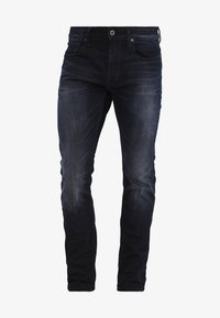 G-Star - 3301 SLIM - Slim fit -farkut - siro black stretch denim - 5