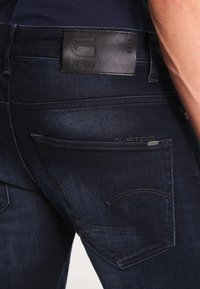 G-Star - 3301 SLIM - Jeans slim fit - siro black stretch denim - 4