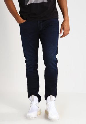 3301 TAPERED - Relaxed fit jeans - dark-blue denim