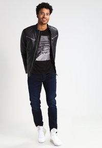 G-Star - 3301 TAPERED - Relaxed fit jeans - dark-blue denim - 1