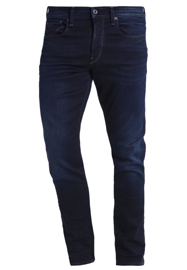 G-star 3301 Tapered - Jeans Relaxed Fit Dark-blue Denim
