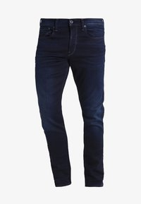 G-Star - 3301 TAPERED - Relaxed fit jeans - dark-blue denim - 5