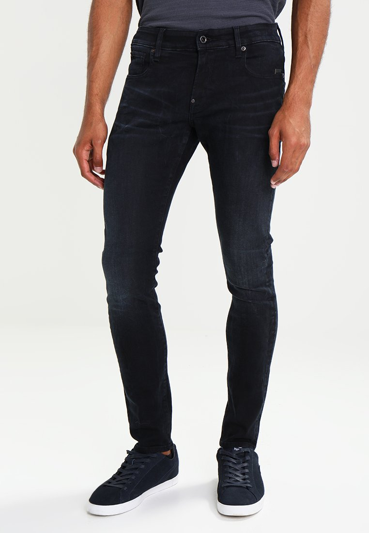 G-Star - REVEND SUPER SLIM - Jeans Skinny Fit - dark aged