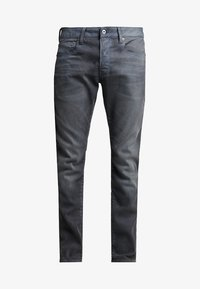 G-Star - 3301 SLIM - Jeansy Slim Fit - anthrazit