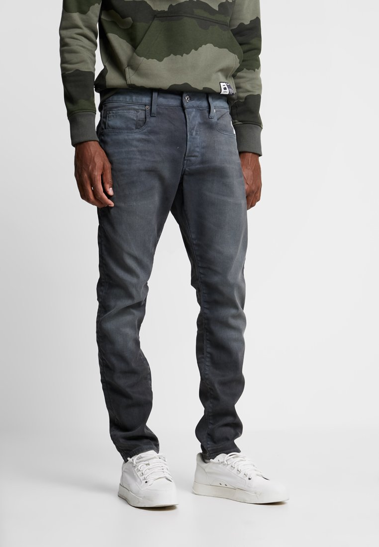 G-Star - 3301 SLIM - Jean slim - anthrazit