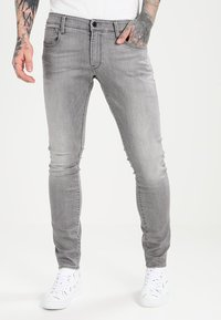 G-Star - 3301 DECONSTRUCTED SUPER SLIM - Jeans Skinny Fit - medium aged - 0