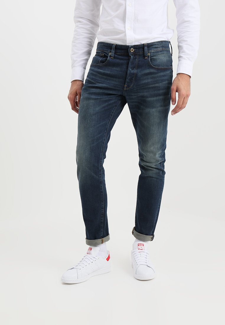 G-Star - 3301 TAPERED - Jeans Tapered Fit - dava stretch denim