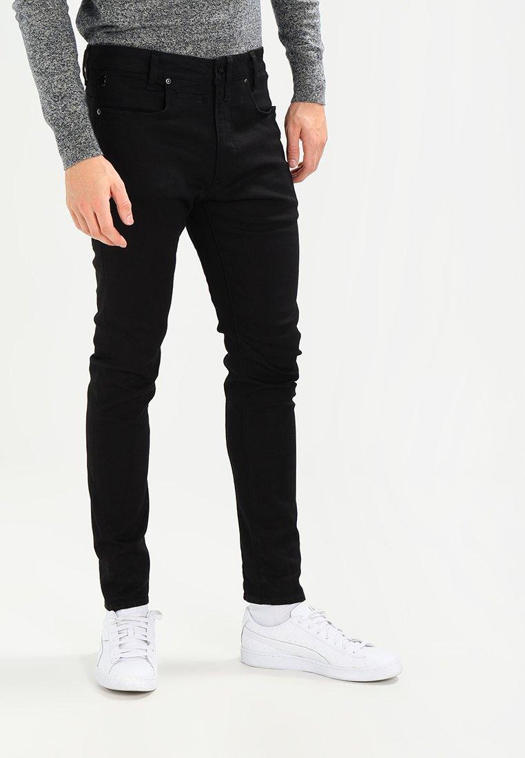 G-Star - D-STAQ 3D SUPER SLIM - Slim fit jeans - black superstretch