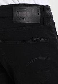 G-Star - 3301 SLIM - Džíny Slim Fit - ita black superstretch - 4