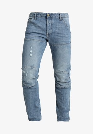 5620 3D SLIM - Slim fit jeans - light aged heavy stone
