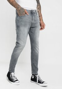 G-Star - Jeans Skinny Fit - wess grey superstretch - 0
