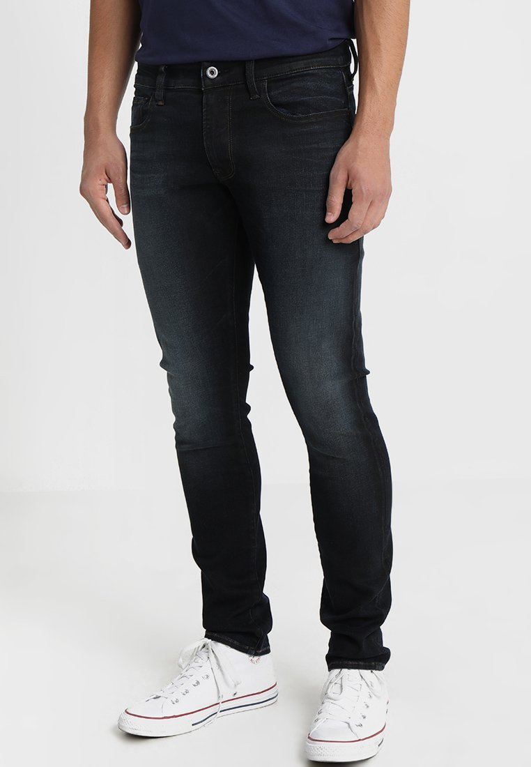 G-Star - 3301 DECONSTRUCTED SKINNY - Jeans Skinny Fit - lor superstretch dark aged