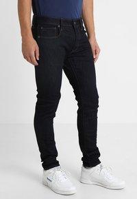 G-Star - 3301 SLIM - Slim fit jeans - visor stretch denim rinsed - 0