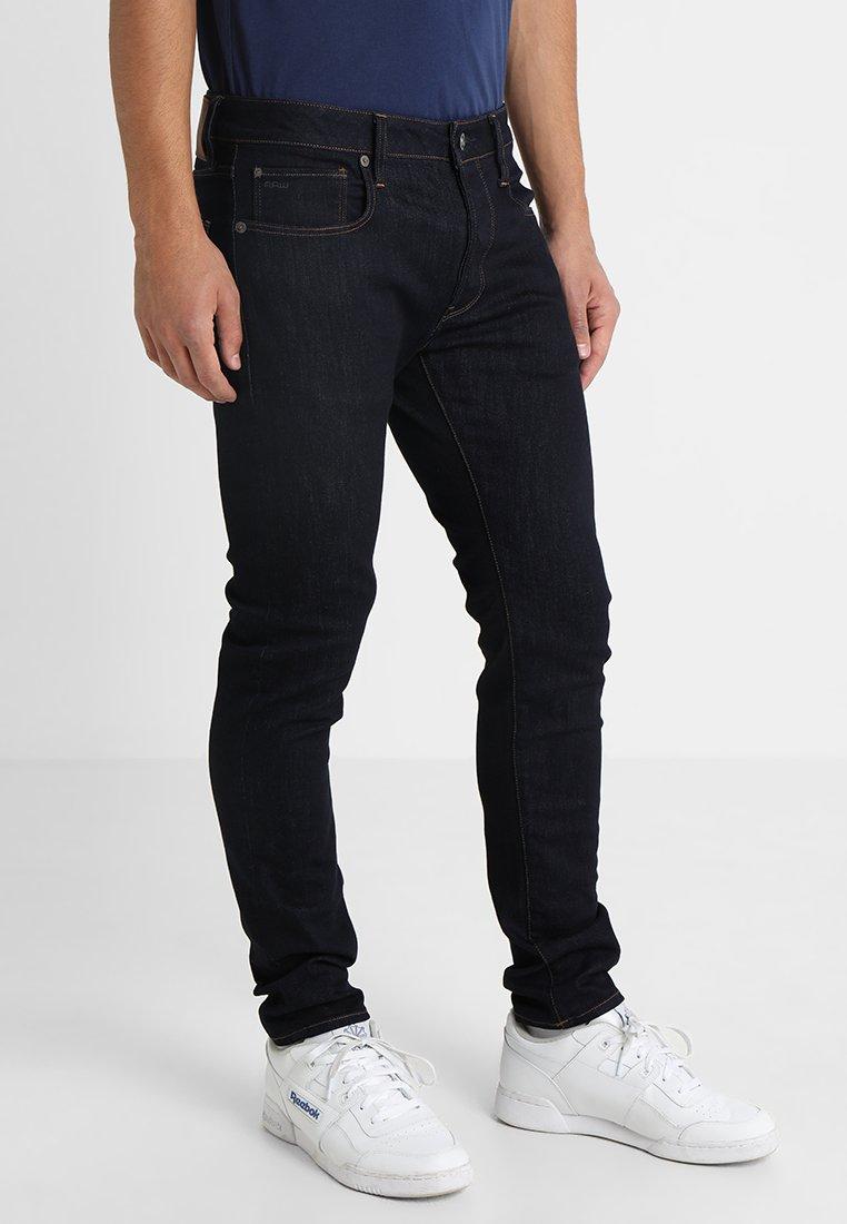 G-Star - 3301 SLIM - Slim fit jeans - visor stretch denim rinsed