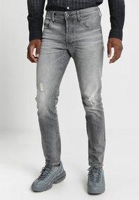 G-Star - 3301 SLIM - Slim fit jeans - medium aged antic - 0