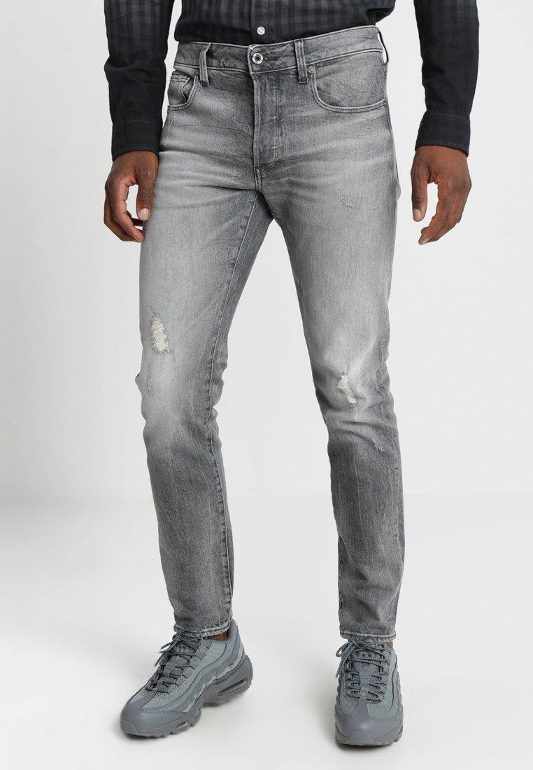 G-Star - 3301 SLIM - Slim fit jeans - medium aged antic