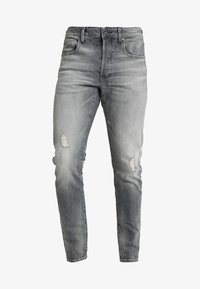 G-Star - 3301 SLIM - Slim fit jeans - medium aged antic - 4
