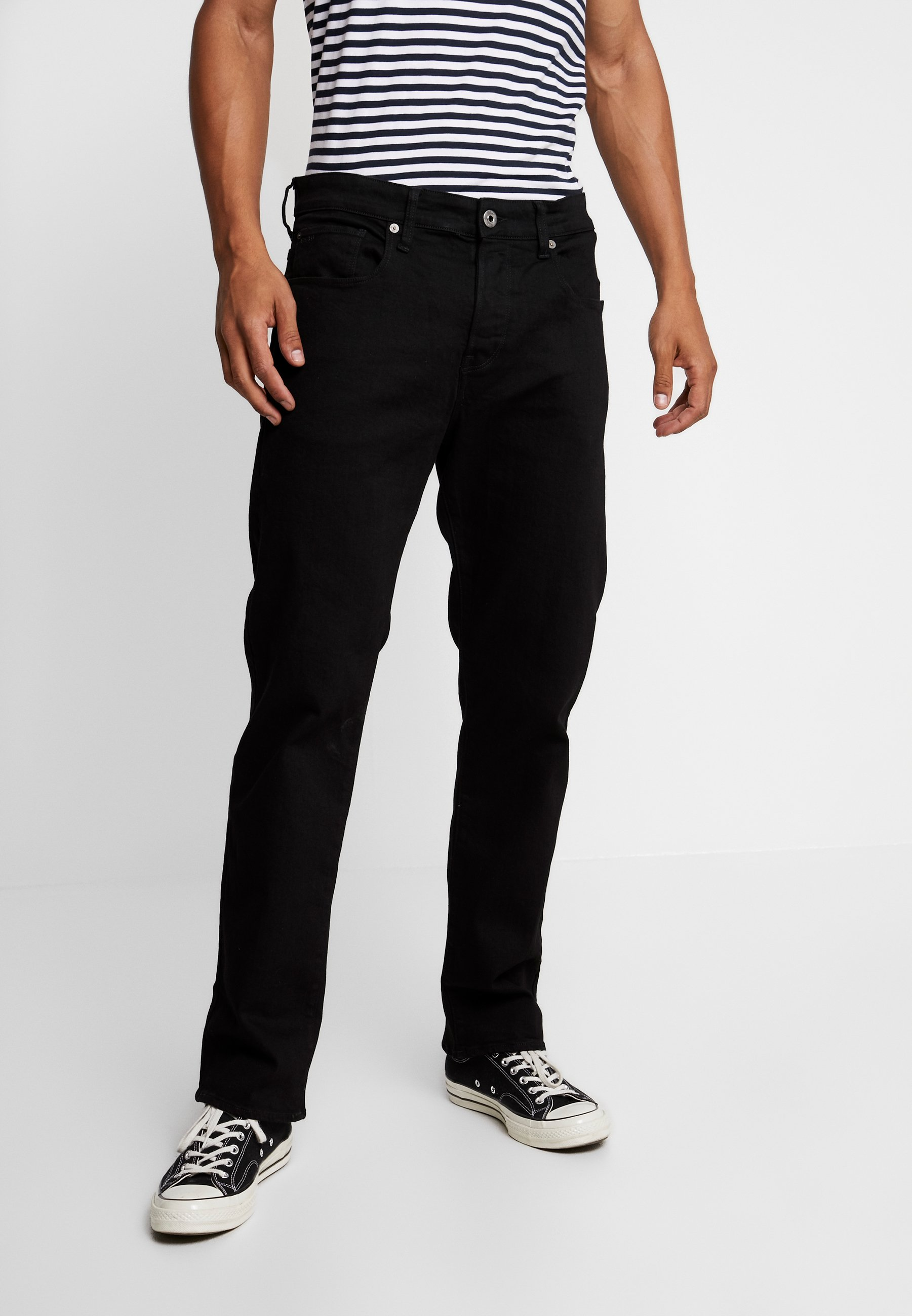 RelaxedJeans star G Baggy Nero 3301 Rinsed Black WD2HI9E