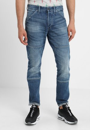 FAEROES CLASSIC STRAIGHT TAPERED - Straight leg jeans - higa denim o - medium aged
