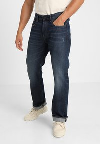 G-Star - 3301-B LOOSE - Relaxed fit jeans - dark-blue denim - 0