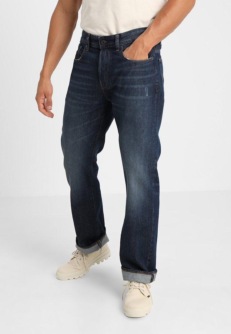 G-Star - 3301-B LOOSE - Relaxed fit jeans - dark-blue denim