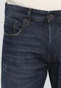 G-Star - 3301-B LOOSE - Relaxed fit jeans - dark-blue denim - 3