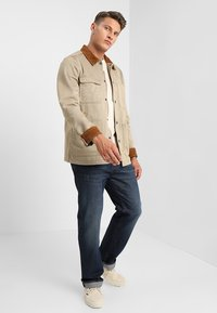 G-Star - 3301-B LOOSE - Relaxed fit jeans - dark-blue denim - 1