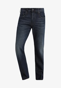 G-Star - 3301-B LOOSE - Relaxed fit jeans - dark-blue denim - 4