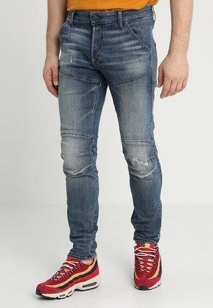 5620 3D SLIM - Jeans slim fit - elto superstretch dark aged antic restored
