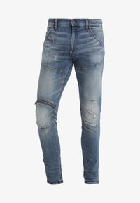 G-Star - 5620 3D ZIP KNEE SKINNY - Jeans Skinny Fit - elto superstretch - dark aged antic restored 33 - 5