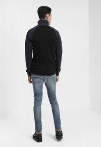G-Star - 5620 3D ZIP KNEE SKINNY - Jeans Skinny Fit - elto superstretch - dark aged antic restored 33 - 2
