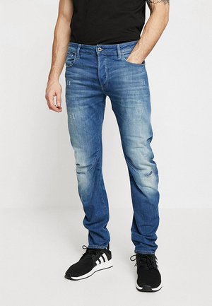 ARC 3D SLIM  - Slim fit jeans - rode stretch bt denim - medium vintage aged ripped