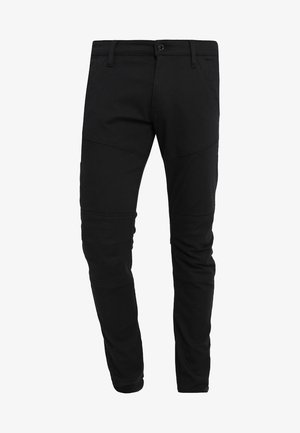 RACKAM DC ZIP SKINNY - Jeans Skinny Fit - ita black superstretch - rinsed