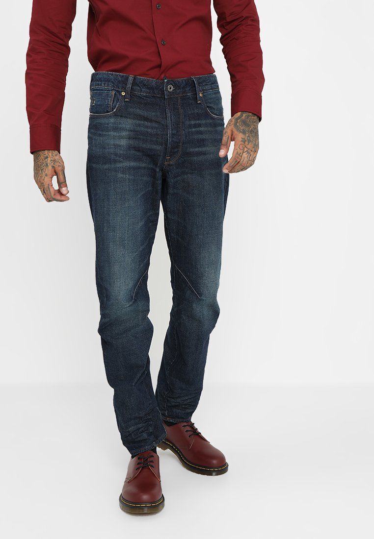G-Star - ARC 3D RELAXED TAPERED - Relaxed fit jeans - higa denim/dark aged