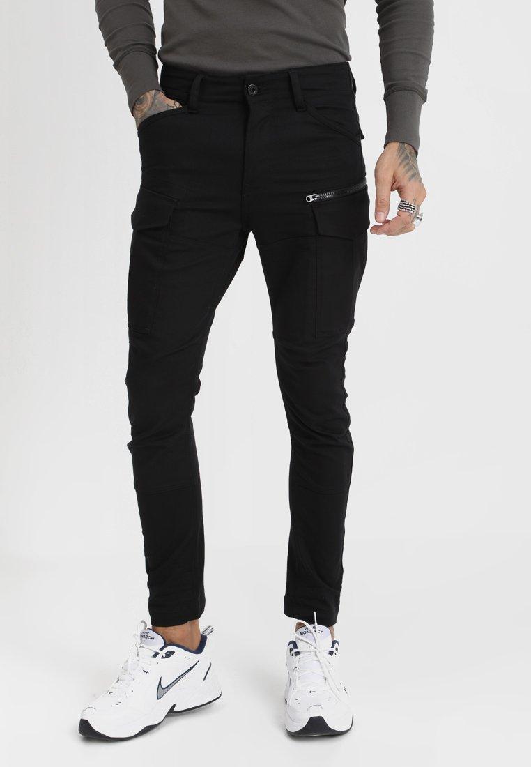 G-Star - ROVIC ZIP 3D SKINNY - Jeans Skinny Fit - ita black superstretch - raw denim