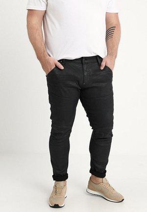 5620 3D SKINNY PM - Jeans Skinny Fit - loomer black rop stretch denim dk aged cobler