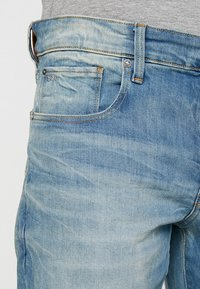 G-Star - 3301 STRAIGHT TAPERED - Jeans straight leg - cyclo stretch denim - light aged - 3