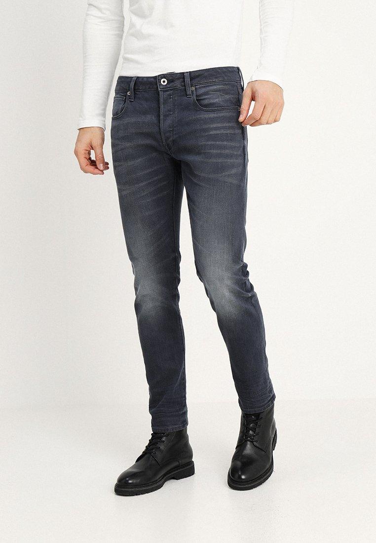 G-Star - 3301 SLIM - Jeans Slim Fit - kess grey denim medium aged