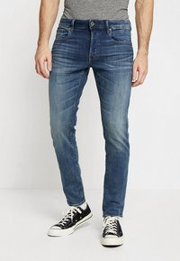 G-Star - 3301 SLIM - Jeans slim fit - elto superstretch medium aged - 0