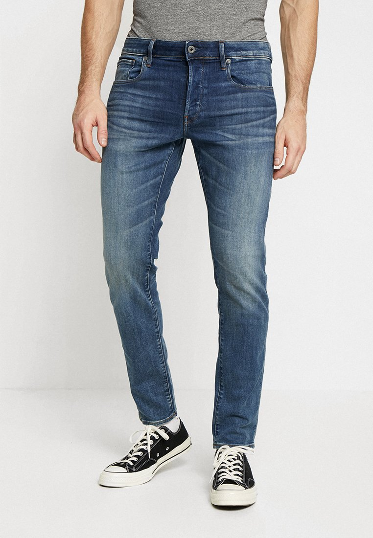 G-Star - 3301 SLIM - Jeans Slim Fit - elto superstretch medium aged