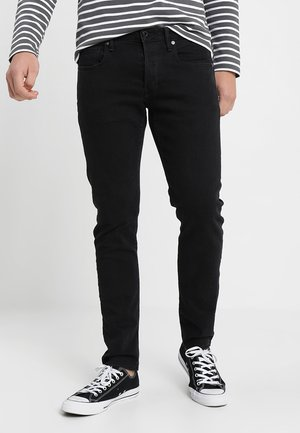 3301 SLIM - Džíny Slim Fit - black denim