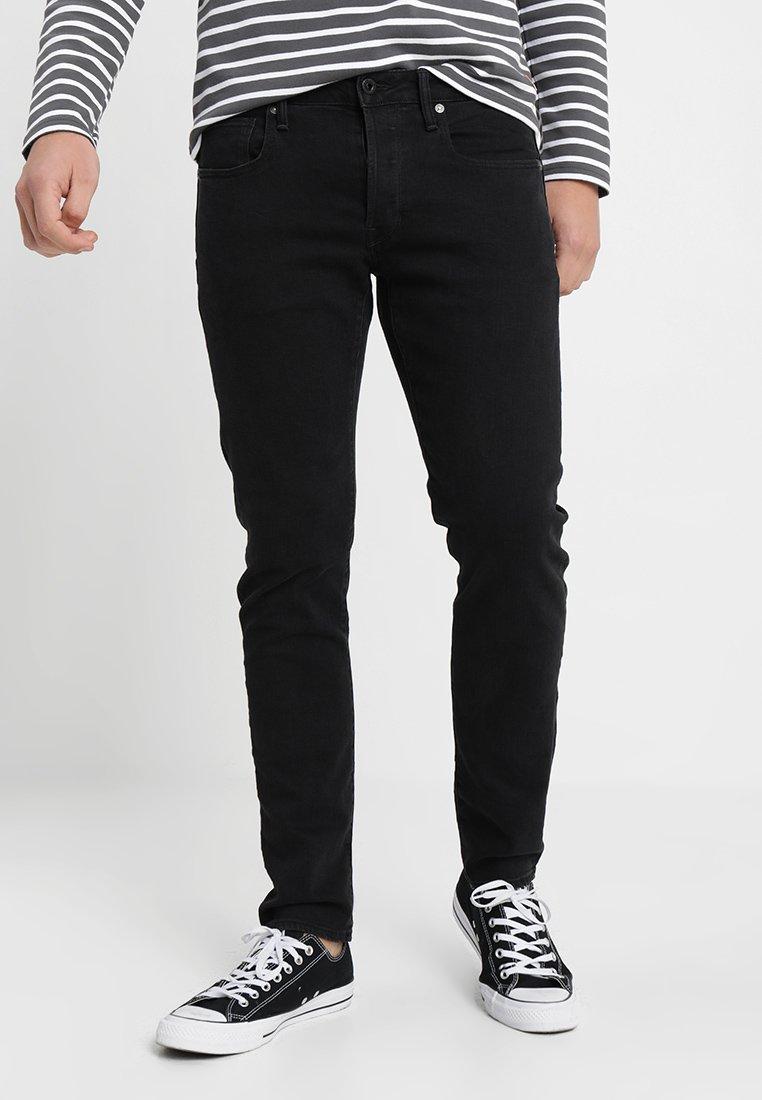 G-Star - 3301 SLIM - Jeans slim fit - black denim