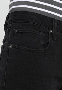G-Star - 3301 SLIM - Jeans slim fit - black denim - 5