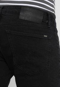 G-Star - 3301 SLIM - Jeans slim fit - black denim - 3