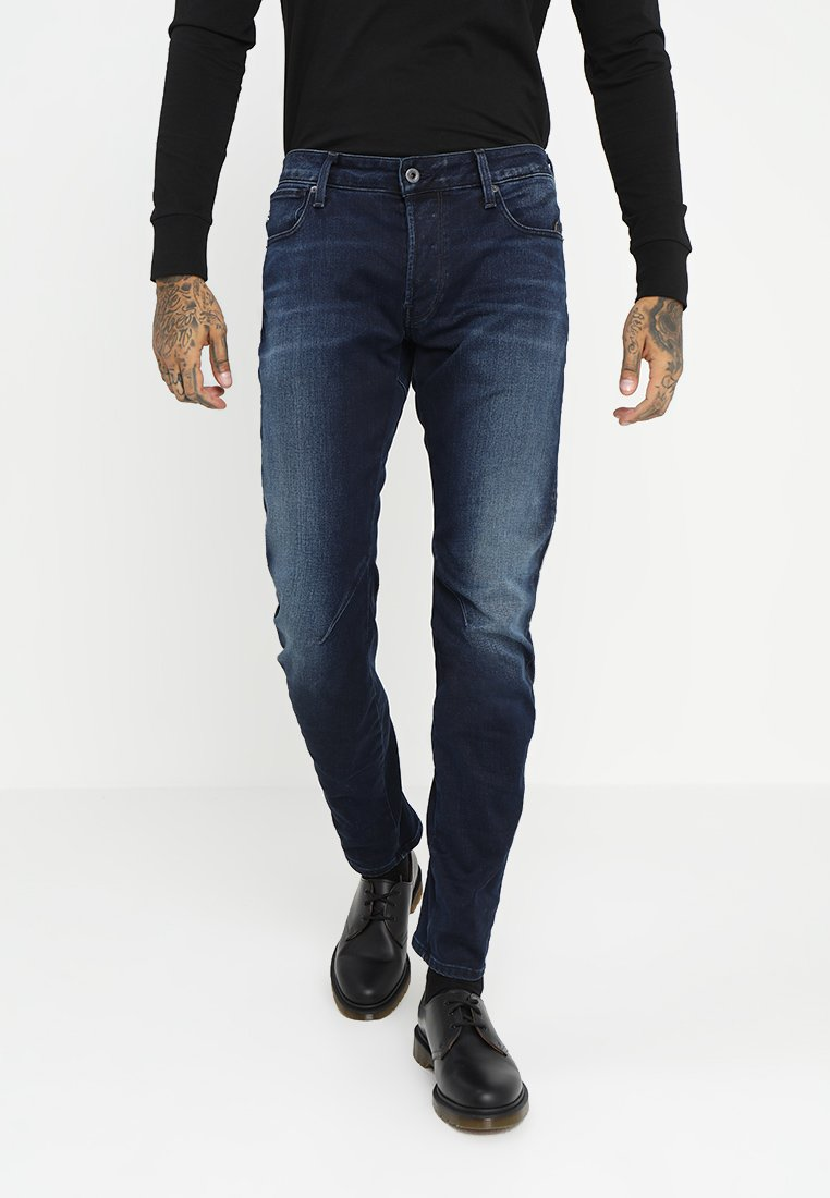 G-Star - ARC-Z 3D SLIM - Slim fit jeans - slander indigo superstretch dark aged